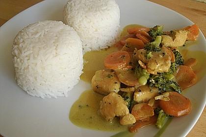 Chicken - Kokos - Curry