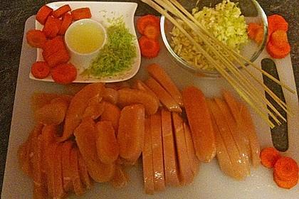 Chicken - Kokos - Curry 1