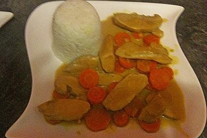 Chicken - Kokos - Curry 10