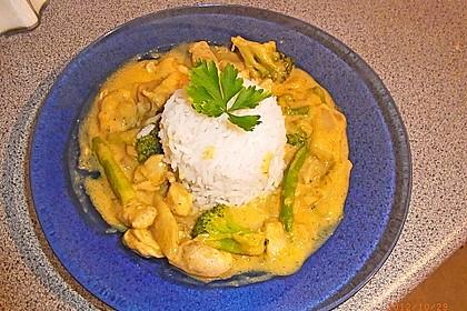 Chicken - Kokos - Curry 2