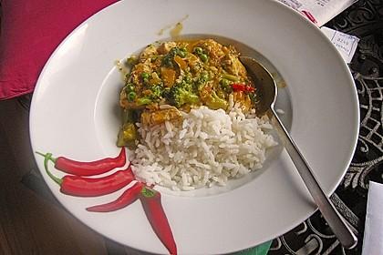 Chicken - Kokos - Curry 4