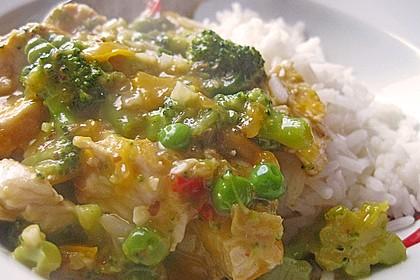 Chicken - Kokos - Curry 7
