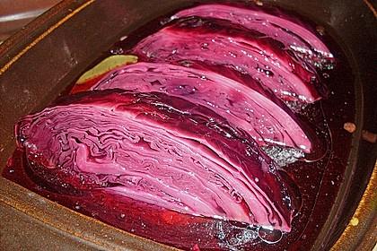 Schneller eingelegter Rotkohl (Rotkraut) nach russischer Art