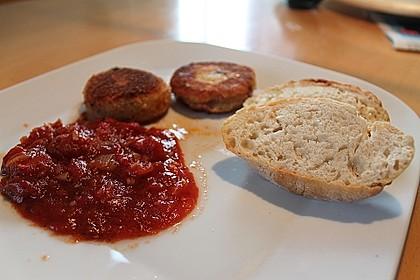 Spanische Ziegenkäse - Kroketten mit Tomatensalsa 1