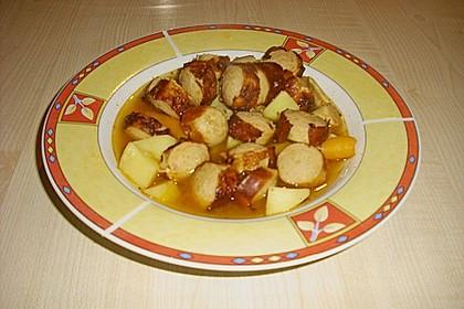 Ralfs Bratwurstsuppe (Bild)