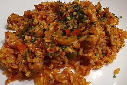 Serbisches Reisfleisch 3