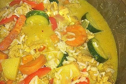 Mein Curry mit Massaman - Currypaste