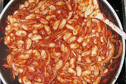 Mediterraner Bohnensalat 8