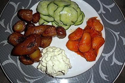 Mediterraner Bohnensalat 5