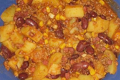 Kartoffeln auf mexikanische Art (Bild)