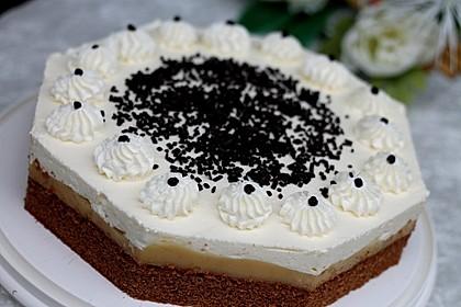 Bananen - Sahne - Torte