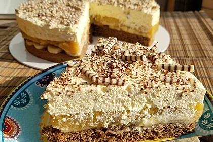 Bananen - Sahne - Torte 1