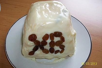Zaren - Paskha - russische traditionelle Frischkäse - Rosinen - Speise zu Ostern 3
