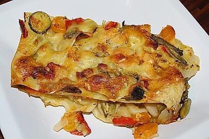 Gemüselasagne mit Béchamelsauce à la Sonja