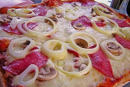 Superknuspriger Pizzateig 5