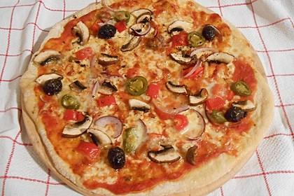 Superknuspriger Pizzateig 7
