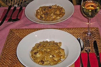 Lamm - Bulgur mit Rosinen - Zwiebeln (Bild)