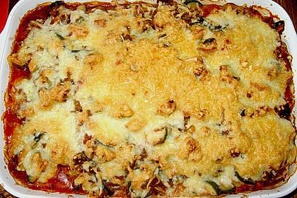 Gnocchi - Hackfleisch - Gemüse - Auflauf