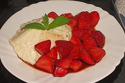 Grießflammeri mit Erdbeeren in Balsamico 2