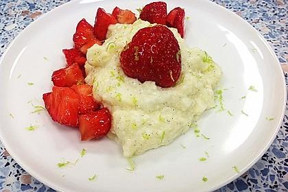 Grießflammeri mit Erdbeeren in Balsamico 4