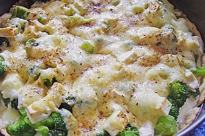 Brokkoli - Feta - Pie 12