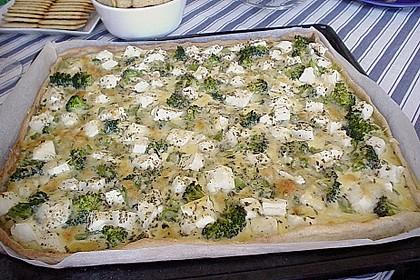 Brokkoli - Feta - Pie 14