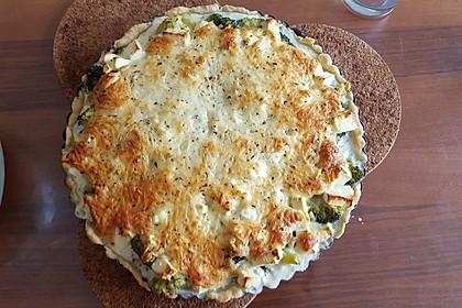 Brokkoli - Feta - Pie 6