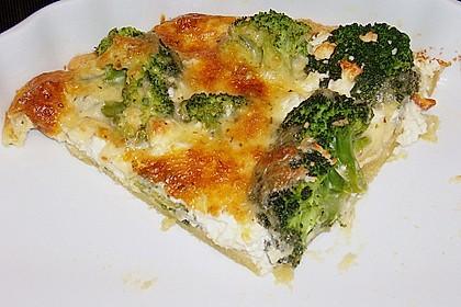Brokkoli - Feta - Pie 4