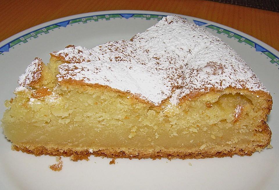 Schneller blechkuchen mit pudding