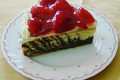 Erdbeer - Zebrakuchen 25