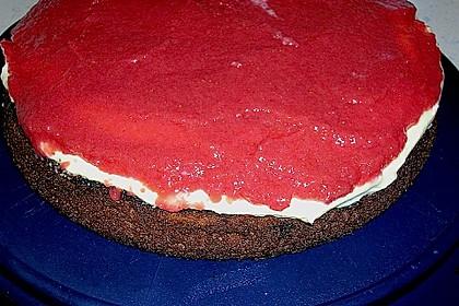 Erdbeer - Zebrakuchen 46