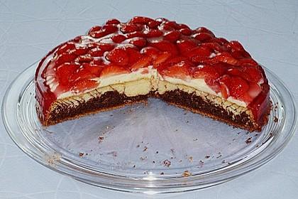 Erdbeer - Zebrakuchen 37