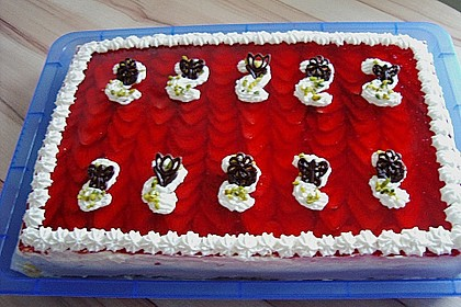 Erdbeer - Zebrakuchen 10