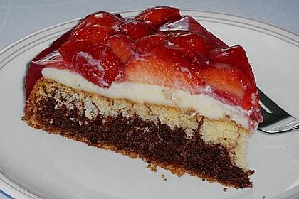 Erdbeer - Zebrakuchen 23
