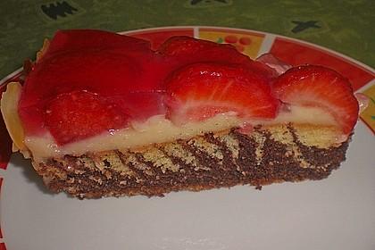 Erdbeer - Zebrakuchen 19