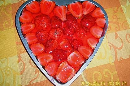 Erdbeer - Zebrakuchen 9