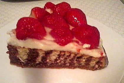 Erdbeer - Zebrakuchen 32
