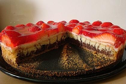 Erdbeer - Zebrakuchen 34