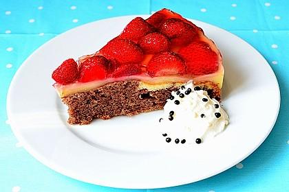 Erdbeer - Zebrakuchen 8