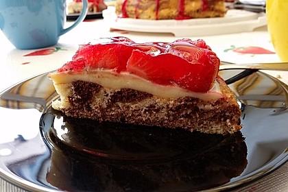 Erdbeer - Zebrakuchen 14