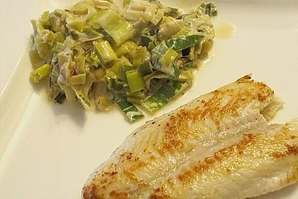 Thunfisch-Steaks auf Lauchgemüse 14