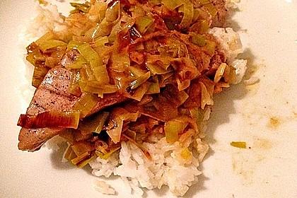 Thunfisch-Steaks auf Lauchgemüse 20