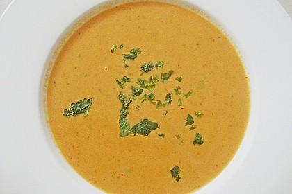 Scharfe Tomaten - Kokos - Suppe 13