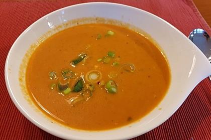Scharfe Tomaten - Kokos - Suppe 4