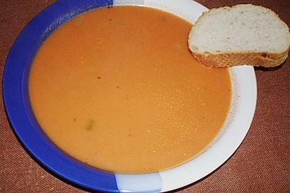 Scharfe Tomaten - Kokos - Suppe 22