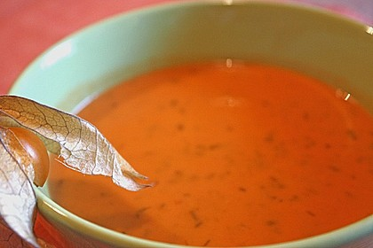 Scharfe Tomaten - Kokos - Suppe 15