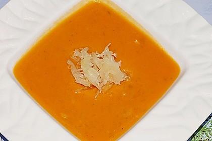 Scharfe Tomaten - Kokos - Suppe 6