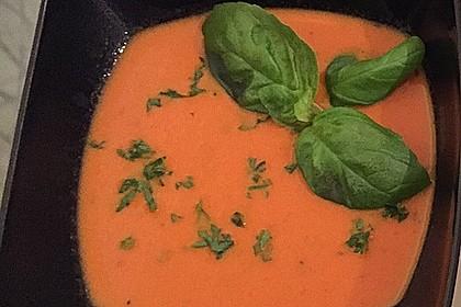 Scharfe Tomaten - Kokos - Suppe 10