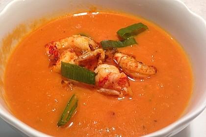 Scharfe Tomaten - Kokos - Suppe 2
