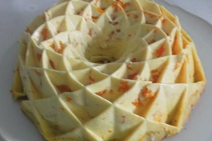 Mandarinen - Schmand - Pudding - Kuchen (Bild)